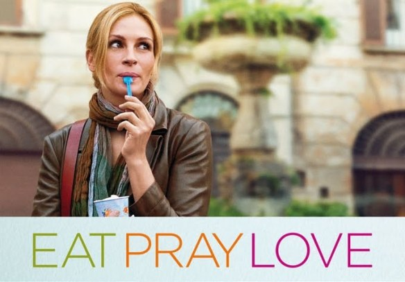Eat Pray Love Movie Cover
